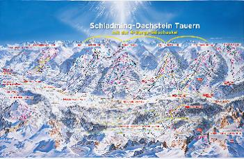 Click to see the larger map of the ski routes in the region